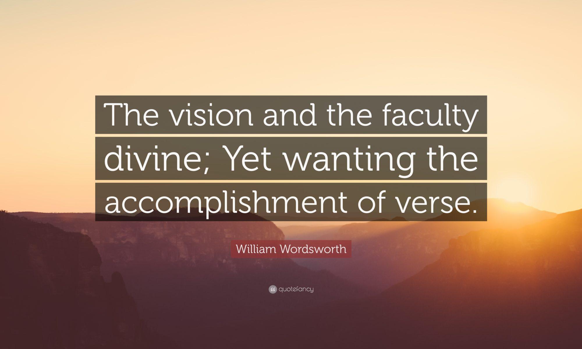 Wordsworth and his vision of nature – BEB – big eye blog